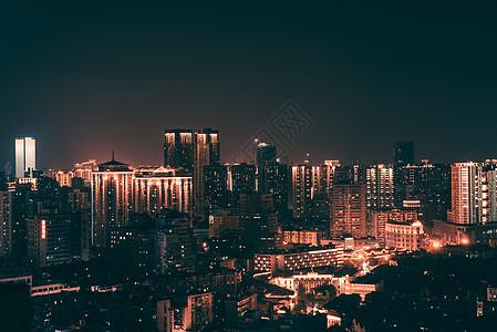 汉口夜景风光图片