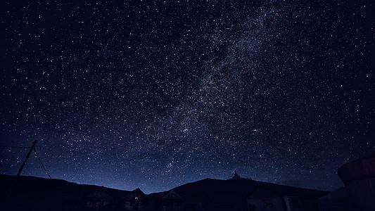 蒙古国璀璨星空图片