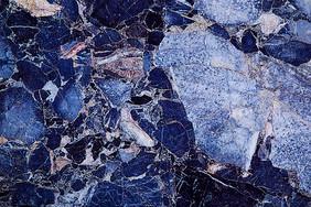 蓝色大理石纹理背景图片