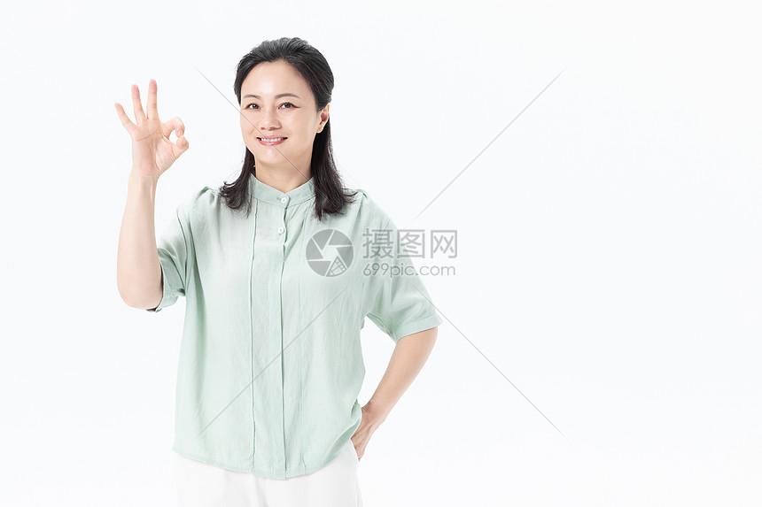 中年妇女形象展示图片