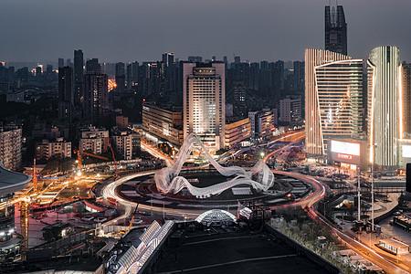 武汉光谷转盘图片