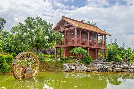 贵港园林风景建筑图片
