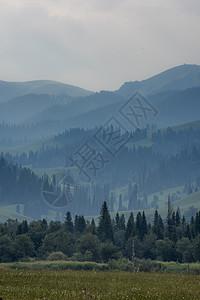 山野云雾仙境图片