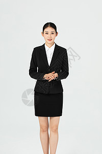 职场青年女性白领形象图片