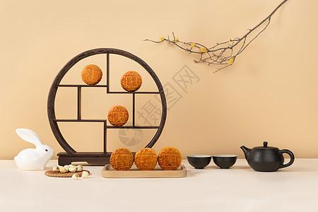 八月中秋节月饼图片