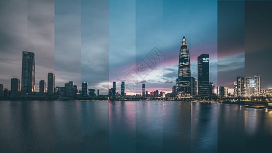 深圳分时摄影图片