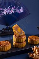 中秋广式月饼图片