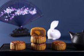 【精】中秋广式月饼图片