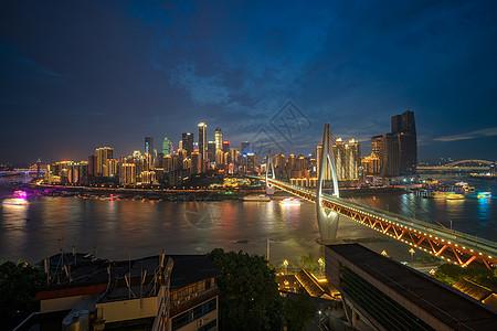 重庆渝中半岛夜景城市图片