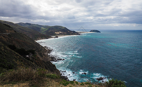 美国一号公路太平洋图片