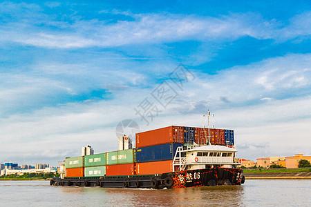 集装箱物流运输图片