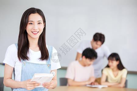 学生教室上课学习图片