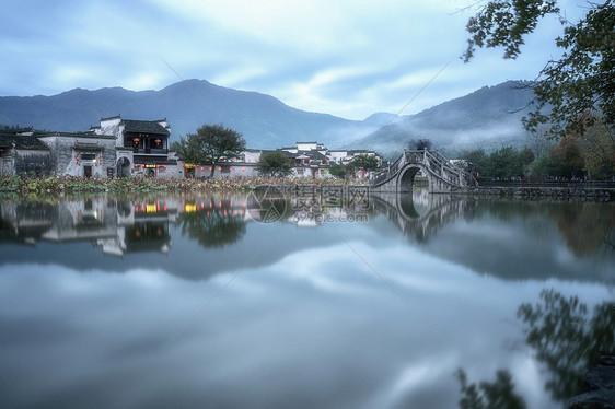 安徽宏村古风建筑风光图片