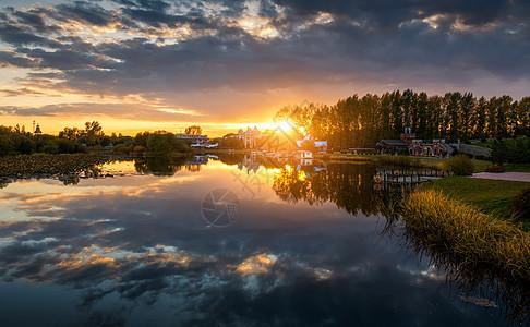 伏尔加庄园天空之境图片