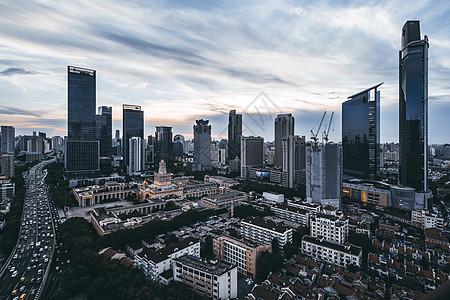 上海静安城市cbd图片