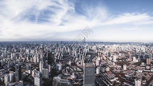 上海城市全景图片