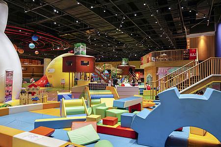 暑期儿童游乐园游乐设施图片