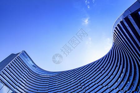 北上广高层大楼建筑设计感曲线线条图片
