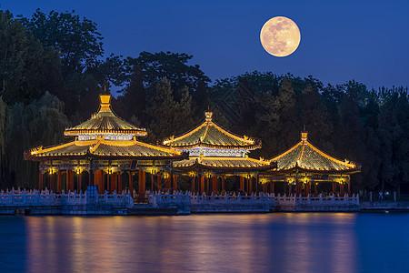 中秋节的北京图片
