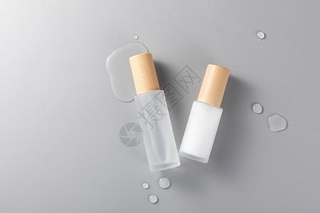 护肤品分装化妆品套装白底图片