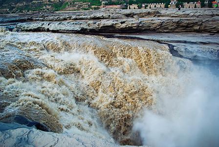 陕西壶口瀑布壮观风光图片