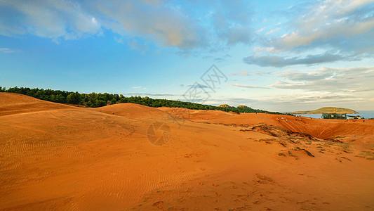 越南美奈红沙丘图片