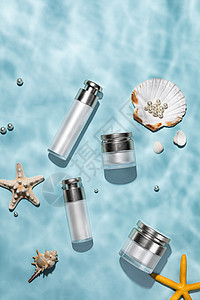 海洋风护肤产品套装图片