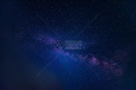 星空银河夜景图片
