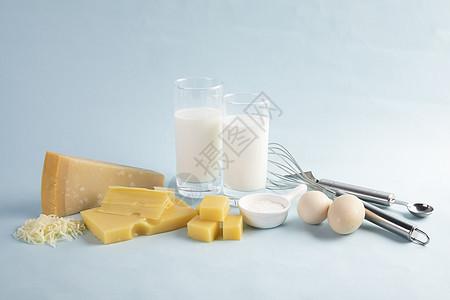 芝士奶酪甜品原材料图片