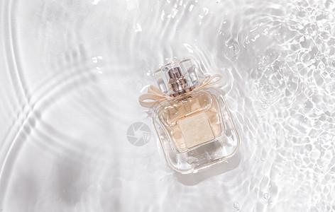 香水水波纹背景素材图片