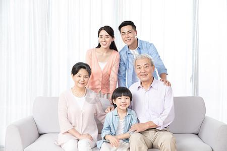 祖孙三代人合影图片