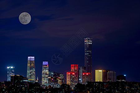 北京城市的中秋节图片