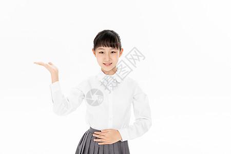 青少年学生礼仪手势图片