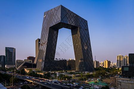 北京中央电视台大楼图片