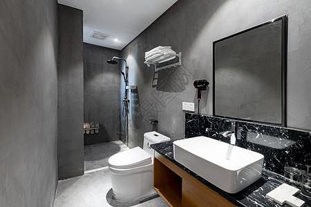 民宿室内卫生间图片