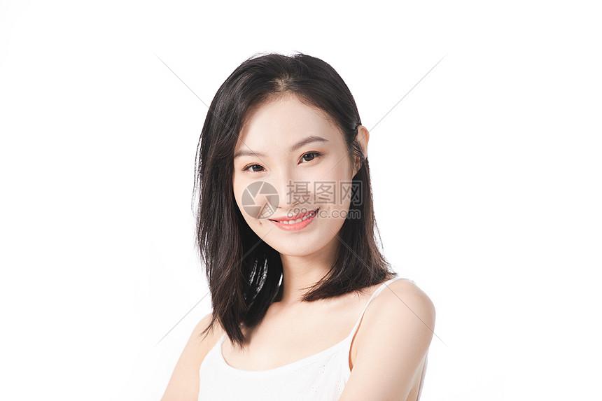 女性护肤美容形象图片