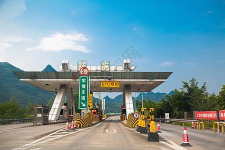 高速入口ETC通道图片