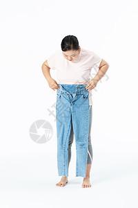 胖女孩肥胖烦恼图片