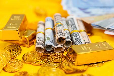 金融货币黄金素材 图片