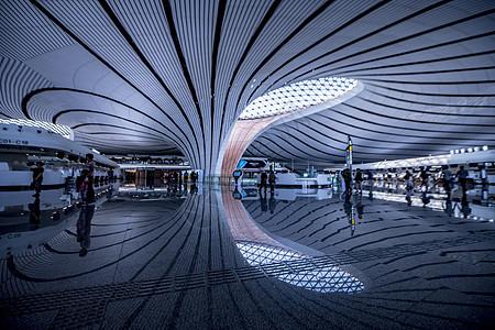 北京大兴国际机场建筑内部图片