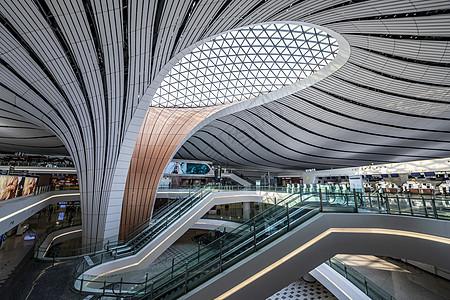 北京大兴国际机场的建筑图片