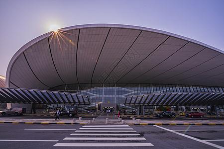北京大兴国际机场外景建筑图片