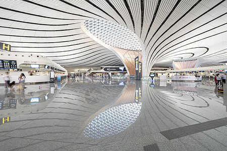 北京大兴国际机场内部图片