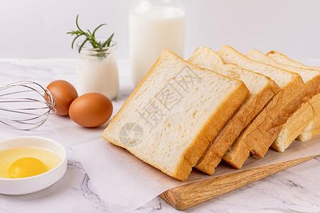 早餐吐司图片
