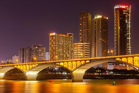 长沙城市夜景橘子洲景观图片