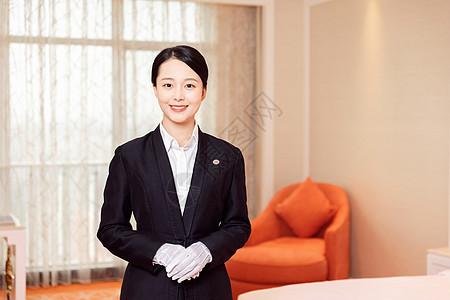 酒店管理贴身管家形象图片
