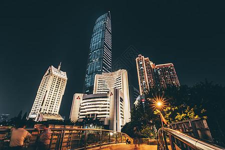 深圳罗湖夜景图片
