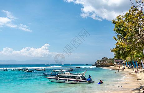巴厘岛的蓝梦岛图片