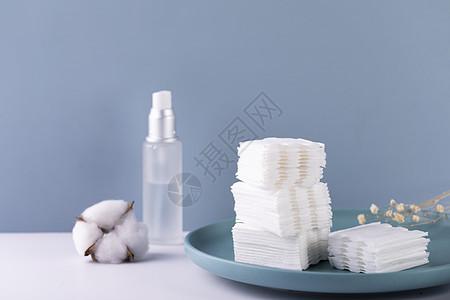 化妆棉图片
