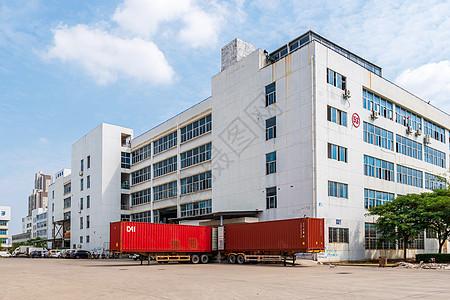 工业区厂房图片